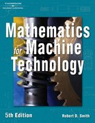 Mathematics for Machine Technology 5th edition 9781401815813 1401815812
