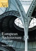 European Architecture 1750-1890 1st Edition 9780192842220 0192842226