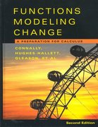 Functions Modeling Change 2nd edition 9780471266198 0471266191