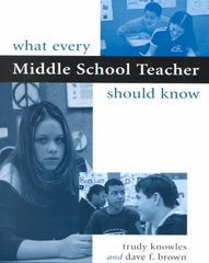 What Every Middle School Teacher Should Know 1st Edition 9780325002668 0325002665