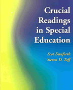 Crucial Readings in Special Education 1st edition 9780130899293 0130899291
