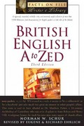British English A to Zed 3rd edition 9780816064564 0816064563