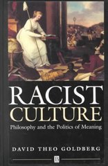 Racist Culture 1st Edition 9780631180784 0631180788