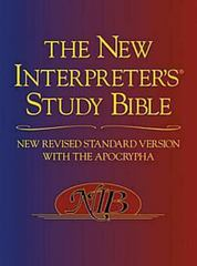 The New Interpreter's Study Bible 1st Edition 9780687278329 0687278325