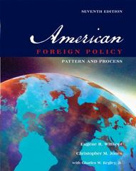 American Foreign Policy 7th edition 9780534603373 0534603378