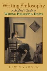 Writing Philosophy 1st Edition 9780195179569 0195179560