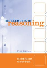 The Elements of Reasoning 5th edition 9780495006985 049500698X