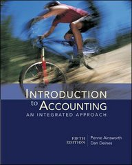 Introduction to Accounting: An Integrated Approach 5th edition 9780073527000 0073527009