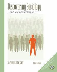 Discovering Sociology 3rd edition 9780534617325 0534617328