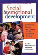 Social and Emotional Development 1st Edition 9781933653303 1933653302