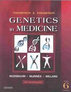 Thompson & Thompson Genetics in Medicine, Revised Reprint 6th edition 9780721602448 0721602444