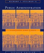 Public Administration 7th edition 9780395906064 0395906067