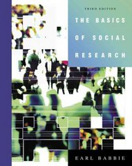 The Basics of Social Research (with CD-ROM and InfoTrac ) 3rd Edition 9780534630362 0534630367