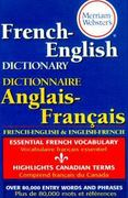 Merriam-Webster's French-English Dictionary 0 9780877799177 0877799172