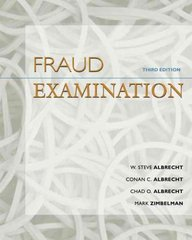 Fraud Examination (with ACL CD-ROM) 3rd edition 9780324560848 0324560842