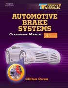 Today's Technician: Automotive Brake Systems 3rd edition 9781401838904 1401838901
