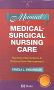 Manual of Medical-Surgical Nursing Care 5th edition 9780323016476 0323016472