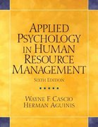 Applied Psychology in Human Resource Management 6th edition 9780131484108 0131484109