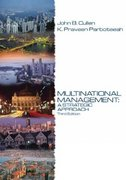 Multinational Management 3rd edition 9780324259902 0324259905