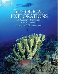 Biological Explorations 5th edition 9780131453142 0131453149
