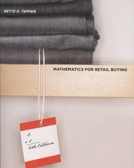 Mathematics for Retail Buying 6th Edition 9781563675881 1563675889