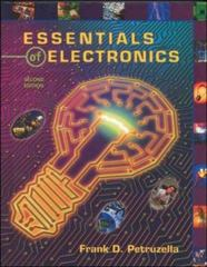 Essentials of Electronics 2nd Edition 9780078210488 0078210488