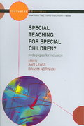 Special Teaching for Special Children 1st edition 9780335214051 0335214053