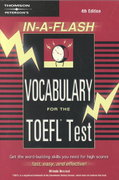Vocabulary for the TOEFL Test 4th edition 9780768908664 0768908663