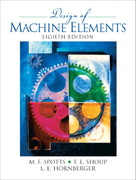 Design of Machine Elements 8th edition 9780130489890 0130489891