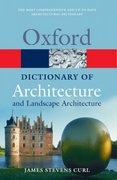 A Dictionary of Architecture and Landscape Architecture 2nd Edition 9780198606789 0198606788