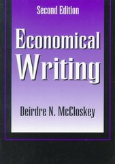 Economical Writing 2nd edition 9781577660637 1577660633