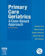 Ham's Primary Care Geriatrics 6th Edition 9780323186513 0323186513
