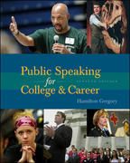 Public Speaking for College and Career with SpeechMate 7th edition 9780072975659 0072975652