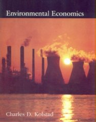Environmental Economics 1st edition 9780195119541 0195119541