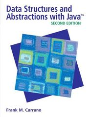 Data Structures and Abstractions with Java 2nd edition 9780132370455 013237045X