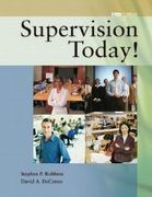 Supervision Today! 5th edition 9780131726093 0131726099