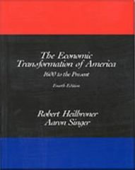 The Economic Transformation of America 4th edition 9780155055308 0155055305
