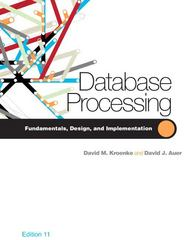 Database Processing 11th edition 9780132302678 0132302675