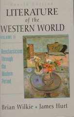 Literature of the Western World 4th edition 9780132275620 0132275627
