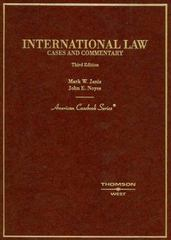 International Law 3rd edition 9780314147394 031414739X