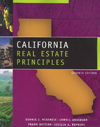 California Real Estate Principles, Copyright Update 7th edition 9780324143904 0324143907