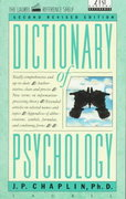 Dictionary of Psychology 2nd Edition 9780440319252 0440319250