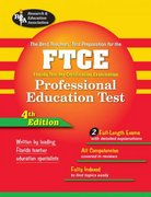 The FTCE Professional Education Test 4th edition 9780738602806 0738602809
