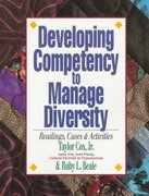 Developing Competency to Manage Diversity 0 9781881052968 1881052966