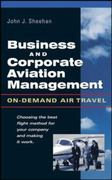 Business and Corporate Aviation Management 1st Edition 9780071412278 0071412271