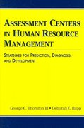 Assessment Centers in Human Resource Management 1st edition 9780805851250 0805851259