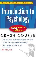 Schaum's Easy Outline of Introduction to Psychology 1st edition 9780071398824 0071398821