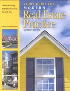 Study Guide for Modern Real Estate Practice 14th edition 9780793144297 0793144299