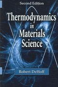 Thermodynamics in Materials Science, Second Edition 2nd edition 9780849340659 0849340659