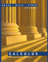 Salas and Hille's Calculus 8th edition 9780471316596 0471316598